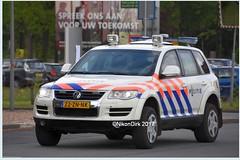 Dutch Police Armored VW.
