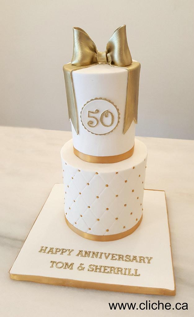 Gateau D Anniversaire De Mariage Montreal Gateau Cakes