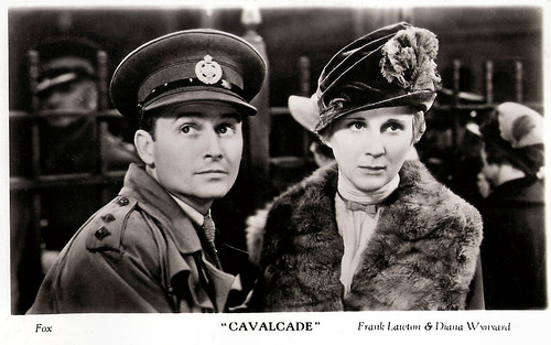 Diana Wynyard and Frank Lawton in Cavalcade (1933)
