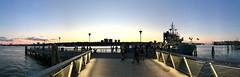 Solstice Sunset, Harlem Piers