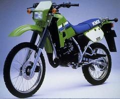 Kawasaki KMX 125 1986 - 4