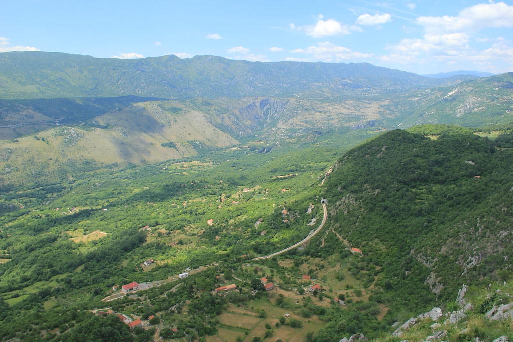 The fertile Zeta Valley, central Montenegro