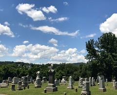 St. Paul's Lutheran Church Cemetery, Myersville, Maryland, June 2017