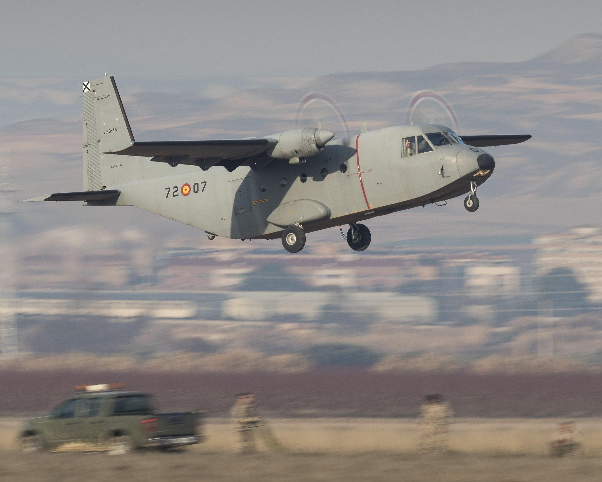 Aeronave Casa C-212 -Aviocar- (T-12)