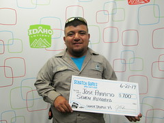 Jose Paramo - $700 - Super Triple 7s - Meridian - Jacksons Food Stores