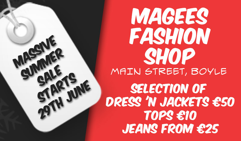 Magees Massive Summer Sale