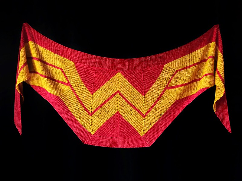 Wonder Woman Wrap (knit)