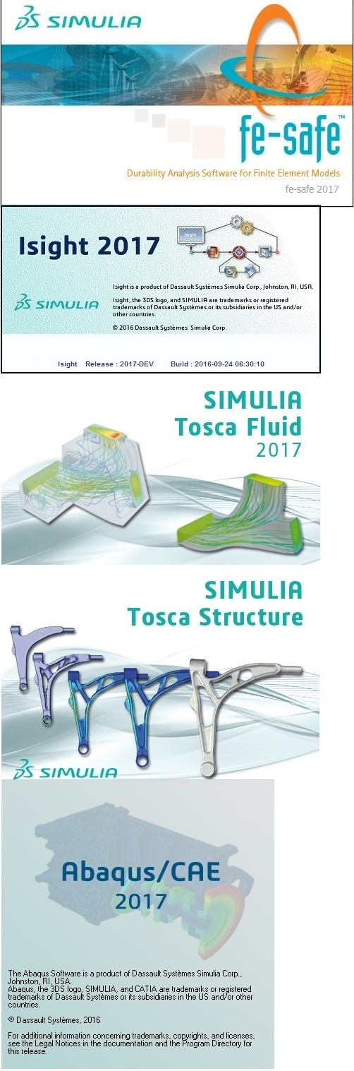 Download DS SIMULIA Suite (Abaqus/Isight/Fe-safe/Tosca) 2017 Win/Linux x64 full
