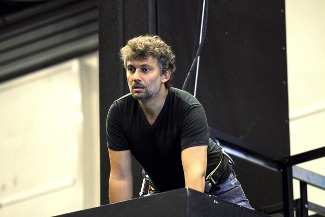 Jonas Kaufmann as Otello in rehearsal for Otello, The Royal Opera © 2017 ROH. Photograph by Catherine Ashmore