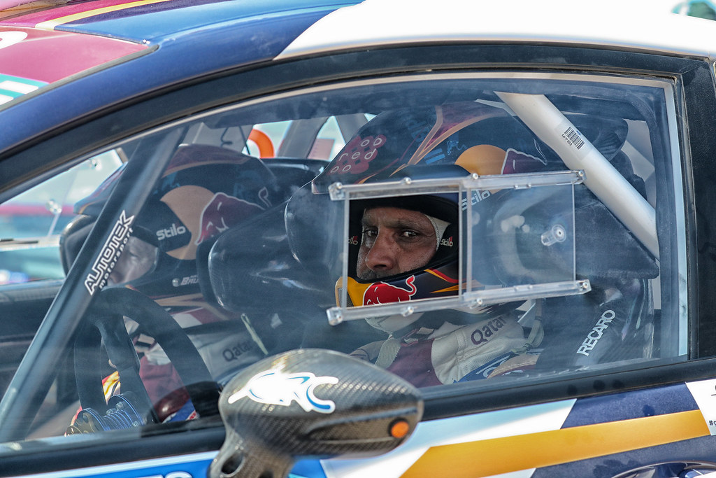 AL ATTIYAH Nasser (qat) and BAUMEL Matthieu (fra) ambiance portrait during the European Rally Championship 2017 - Acropolis Rally Of Grece - From June 2 to 4 - Photo Gregory Lenormand / DPPI