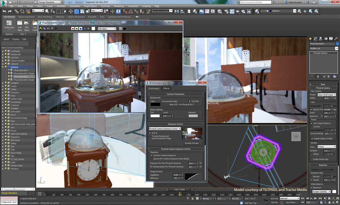 Design with Autodesk 3ds Max 2016 Service Pack 1 full crack