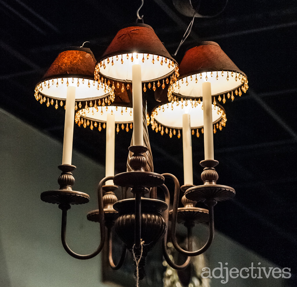 Vintage Chandelier by DMD Cache at Adjectives Altamonte