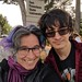 me and milo at sfsu by Liz Henry