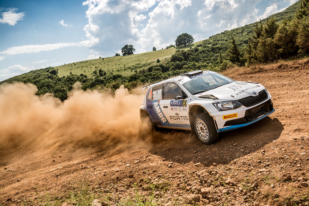 08 VON THURN UND TAXIS Albert (deu) and DEGANDT Bjorn (bel) action during the European Rally Championship 2017 - Acropolis Rally Of Grece - From June 2 to 4 - Photo Thomas Fenetre / DPPI