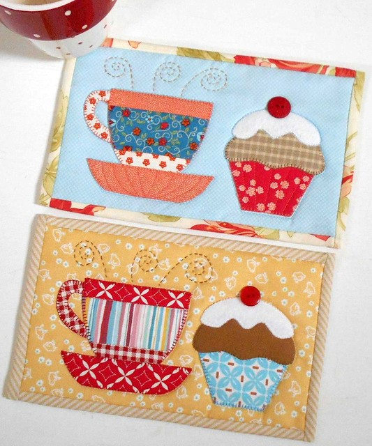 Tea and Cake Mug Rugs