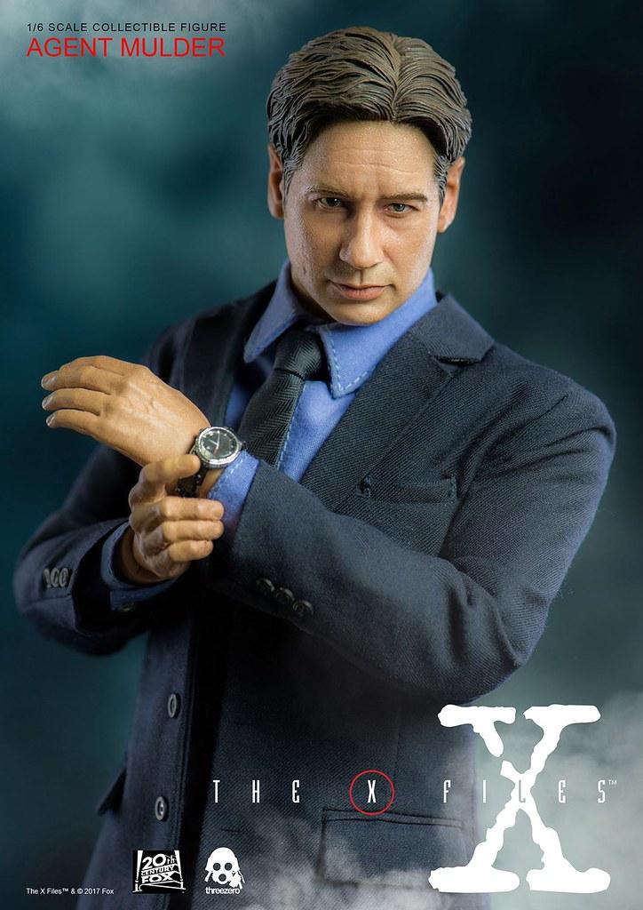 threezero X檔案 【穆德探員】The X-Files Agent Mulder 1/6 比例人偶作品