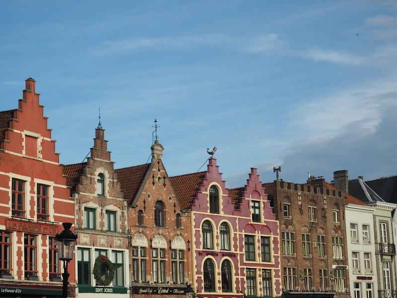 Casas gremiales de Brujas