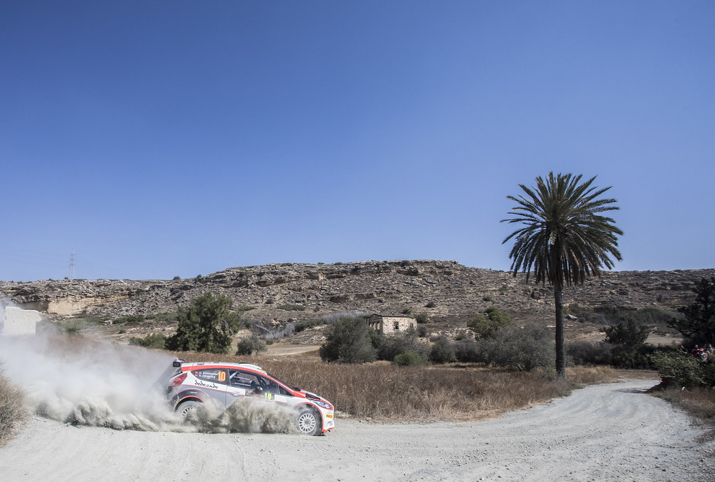 10 DENKTAS Rauf (tur) and SAVARONA Dervis Bora (tur) RAUF DENKTAS FORD FIESTA R5 action during the 2017 European Rally Championship ERC Cyprus Rally,  from june 16 to 18  at Nicosie, Cyprus - Photo Gregory Lenormand / DPPI