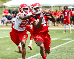 2017 Chiefs Minicamp Day 2