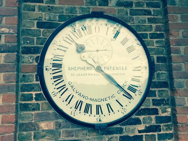 Header of 24-Hour Clock