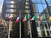 Flags Around the World at Willis Tower