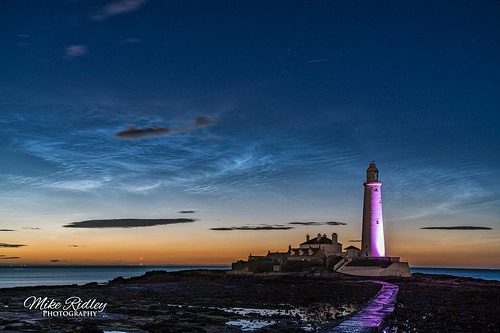 St Marys Noctilucent clouds