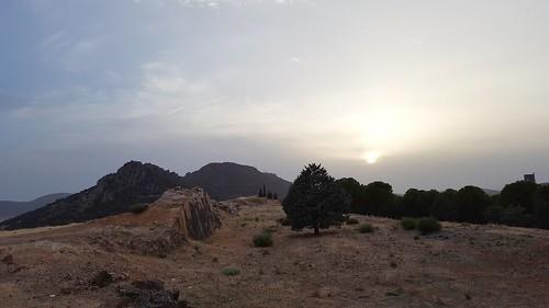 Sunset in Almadén