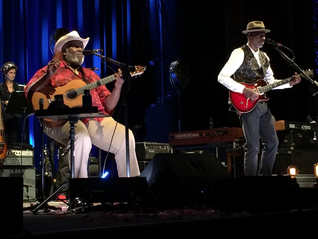 Taj Mahal and Keb Mo, U.C Theater, Berkeley, CA, June 23, 2017