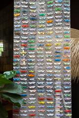 Installation de l'artiste Bern O'Donoghue