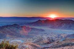 Sunrise Over Palm Desert