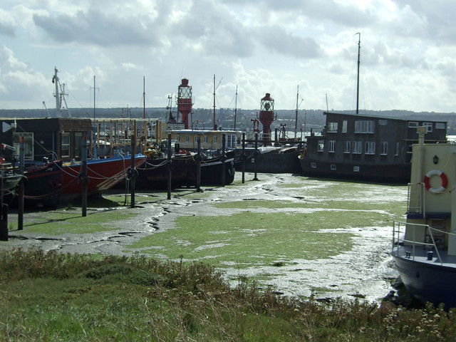 Lightships in Hoo Marina