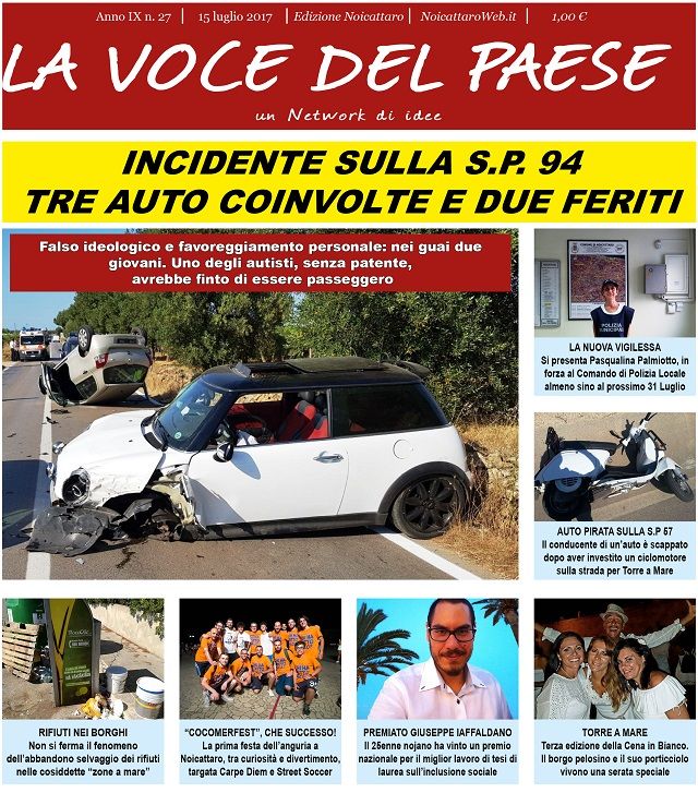 Noicattaro. Prima pagina n. 27-2017 intero