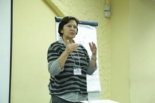 Irmgard Hoeschle-Zeledon, Manager Africa RISING ESA & WA Projects. Photo credit: Jonathan Odhong'/ IITA.