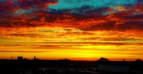 sunset cincinnati antonio avondale sun hdr imagery by gumm gumm238