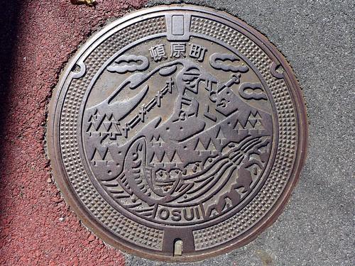 Tonbara Shimane, manhole cover (島根県頓原町のマンホール)