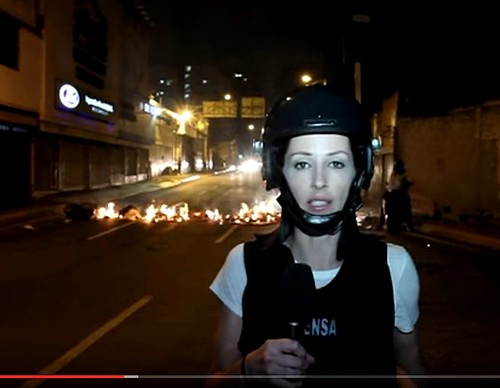 Abby Martin On the Deadly Front Lines of the Anti-Government Protests