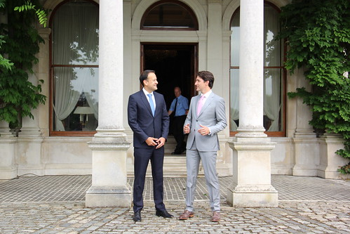 Visit of Canadian Prime Minister Justin Trudeau