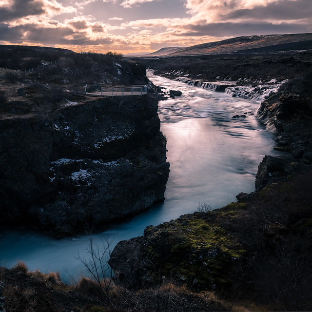 Hraunfossar waterfall - Iceland - Travel photography