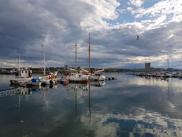 Port view, Vadsø