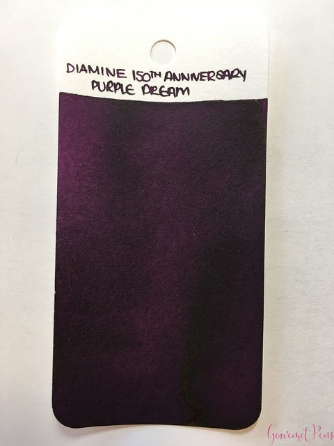 Ink Shot Review Diamine Anniversary Purple Dream @AppelboomLaren 11