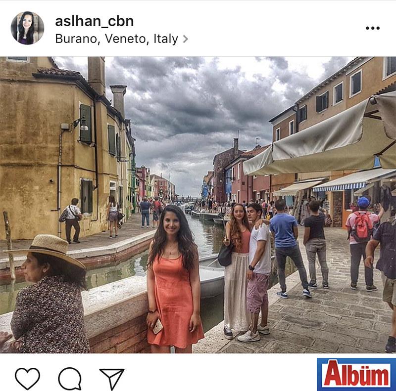 Mimarlık Fakültesi öğrencisi Aslıhan Çoban, İtalya tatilinden bu fotoğrafı paylaştı.