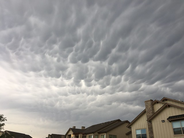 Weird Clouds on Monday - Amarillo in July