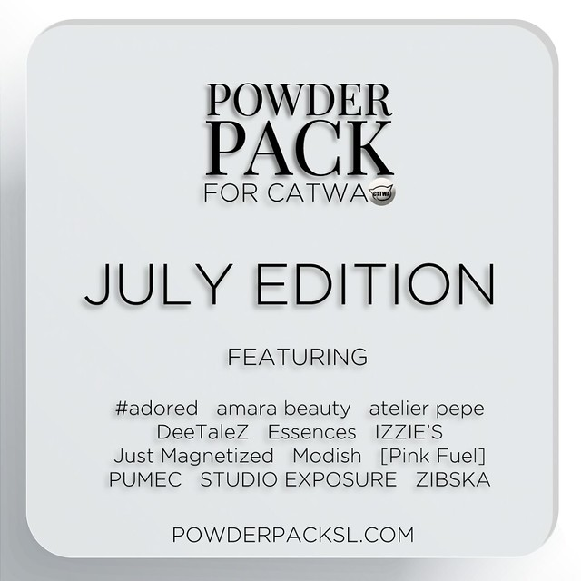 Powder Pack for Catwa July