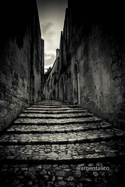Stairs to Matera