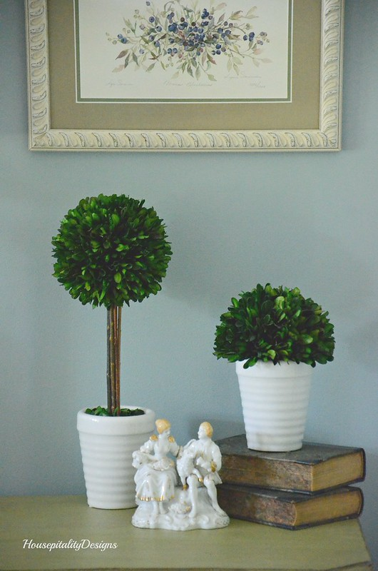 Boxwood topiaries-Housepitality Designs