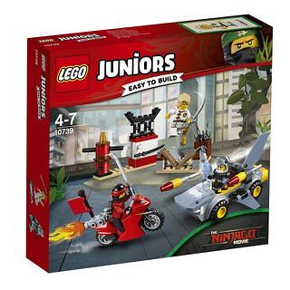 樂高旋風忍者電影也在Juniors 系列推出盒組!!LEGO 10739 【鯊魚進攻】Shark Attack