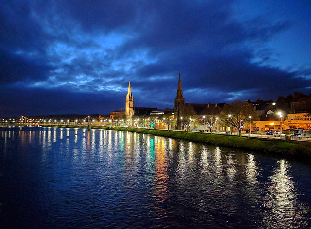 Inverness @ night