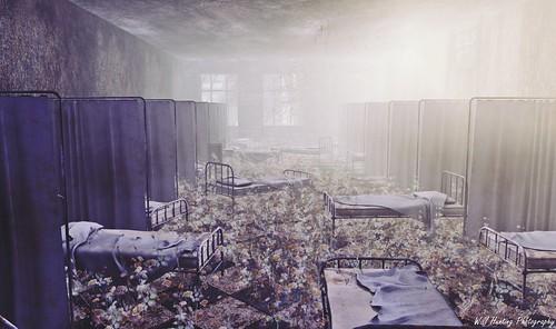 Arkham's dilapidation