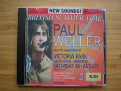 PAUL WELLER - Victoria Park Hackney London 8th August 1998 (SBD)