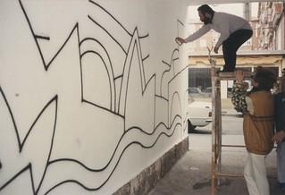 Mural pasajes Cuatro de Marzo